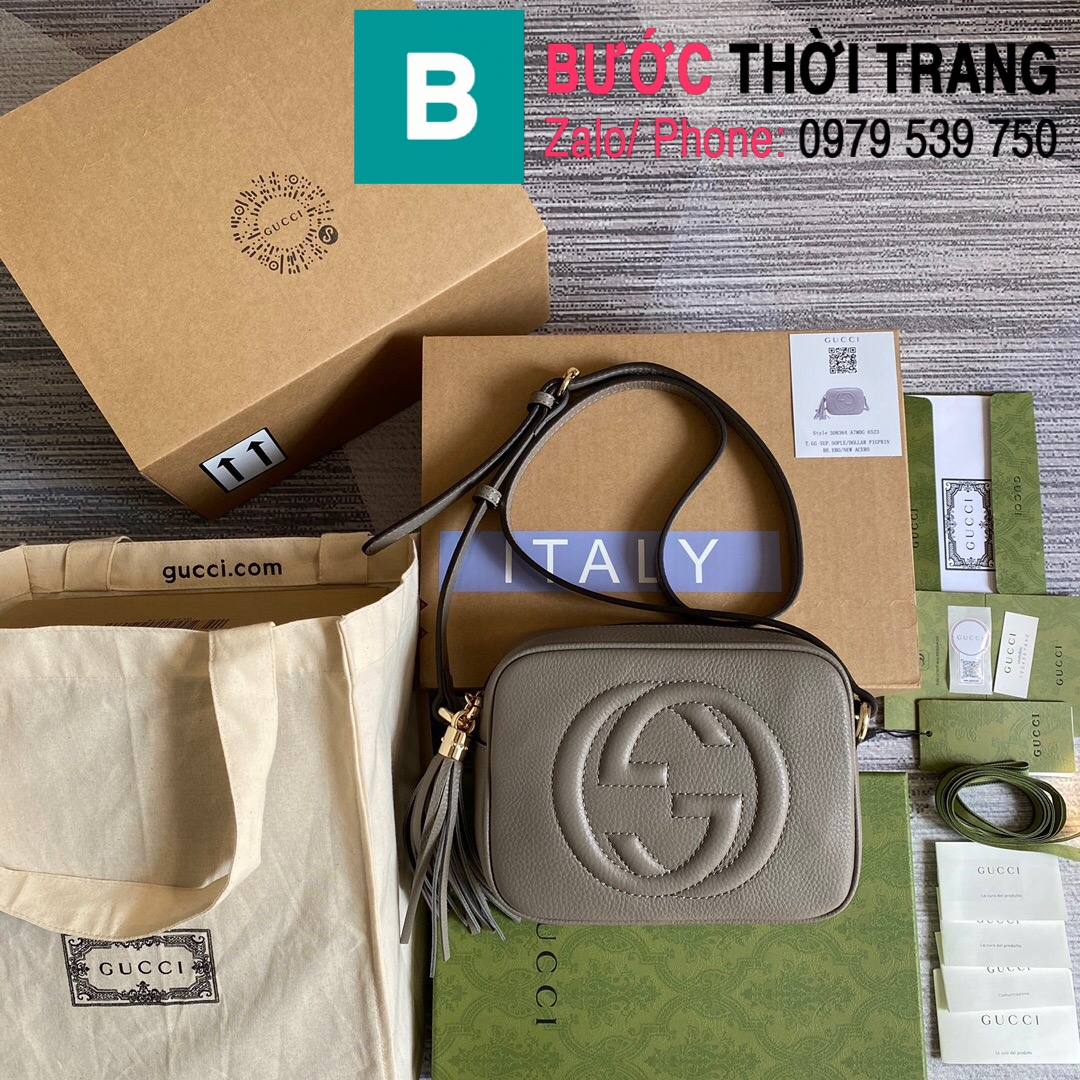 Túi xách Gucci Soho Small Leather Disco bag (19)