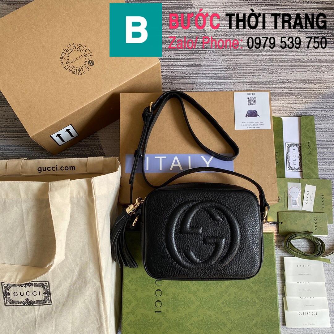 Túi xách Gucci Soho Small Leather Disco bag (28)