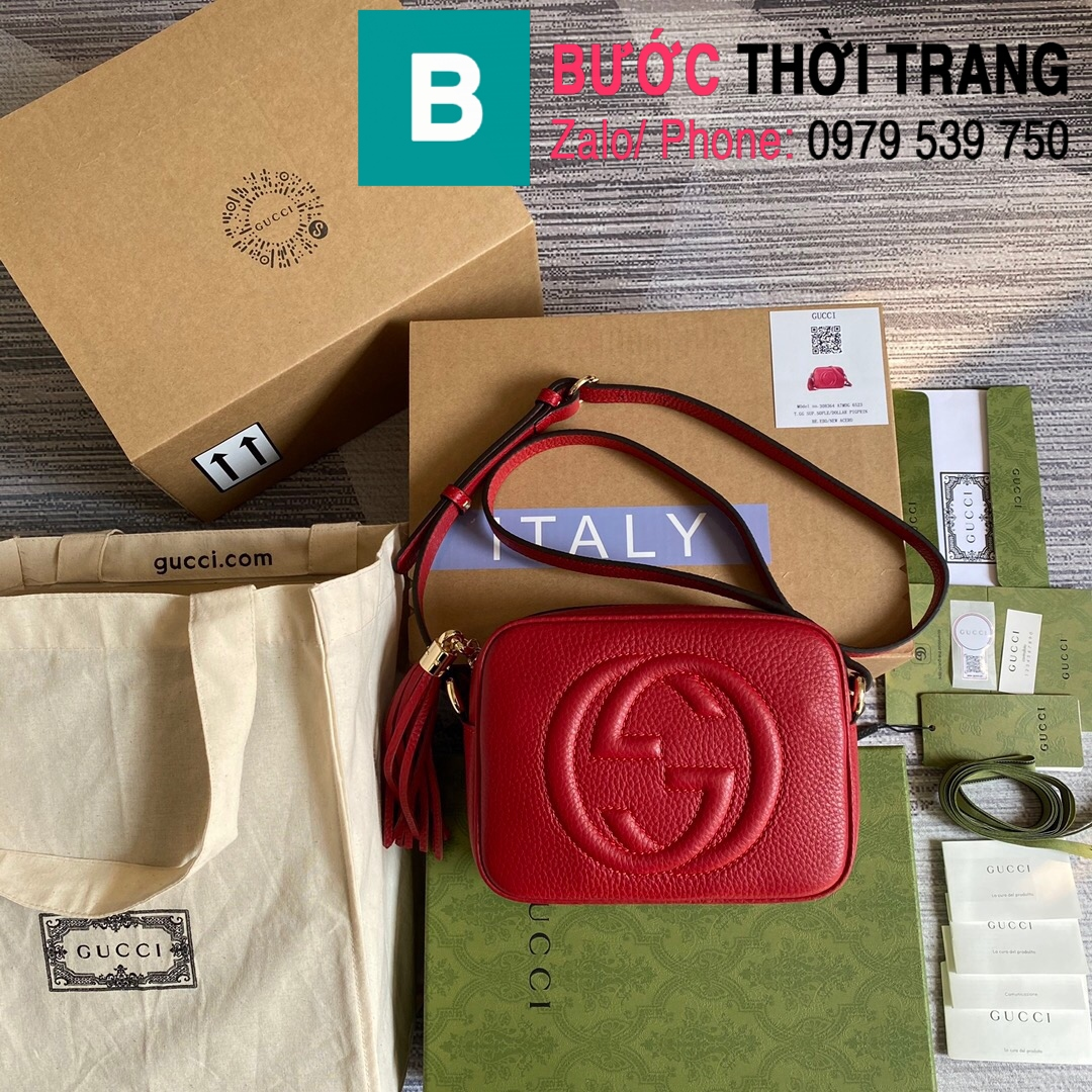 Túi xách Gucci Soho Small Leather Disco bag (37)