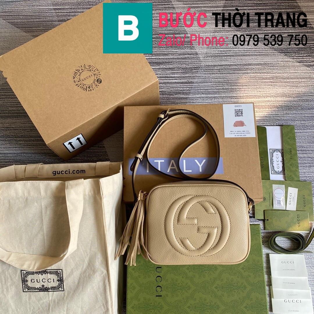 Túi xách Gucci Soho Small Leather Disco bag (46)