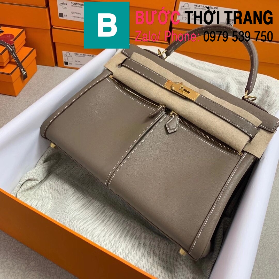 Túi xách Hermes Kelly Lakis Bag (10)