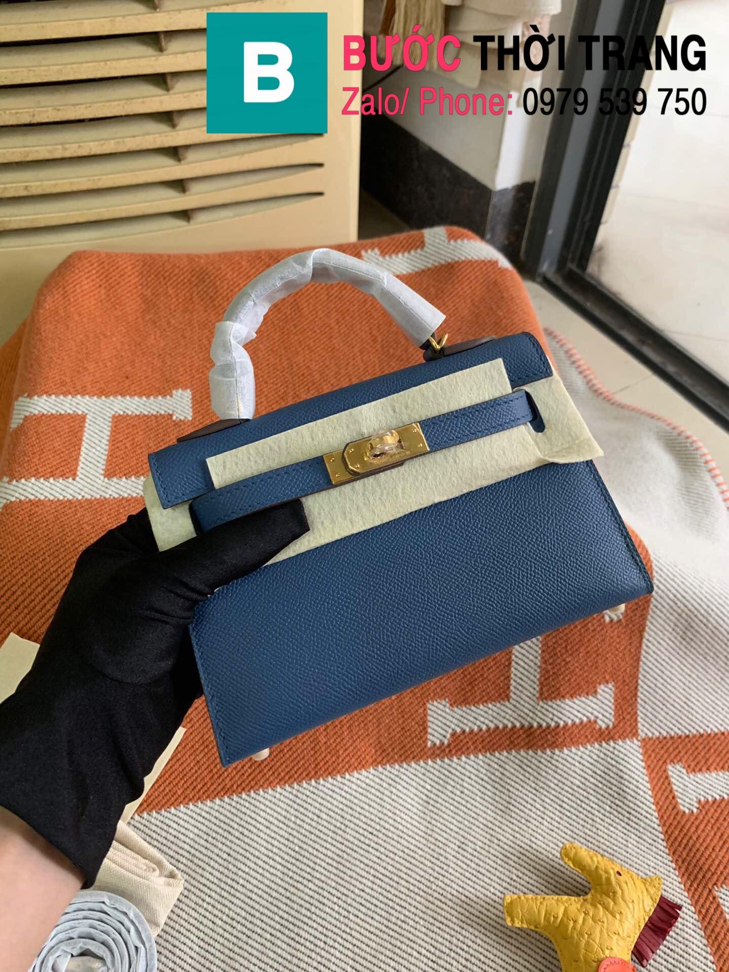 Túi xách Hermes Kelly mini epsom (1)