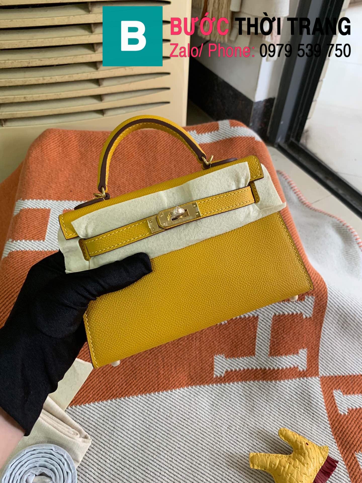 Túi xách Hermes Kelly mini epsom (10)