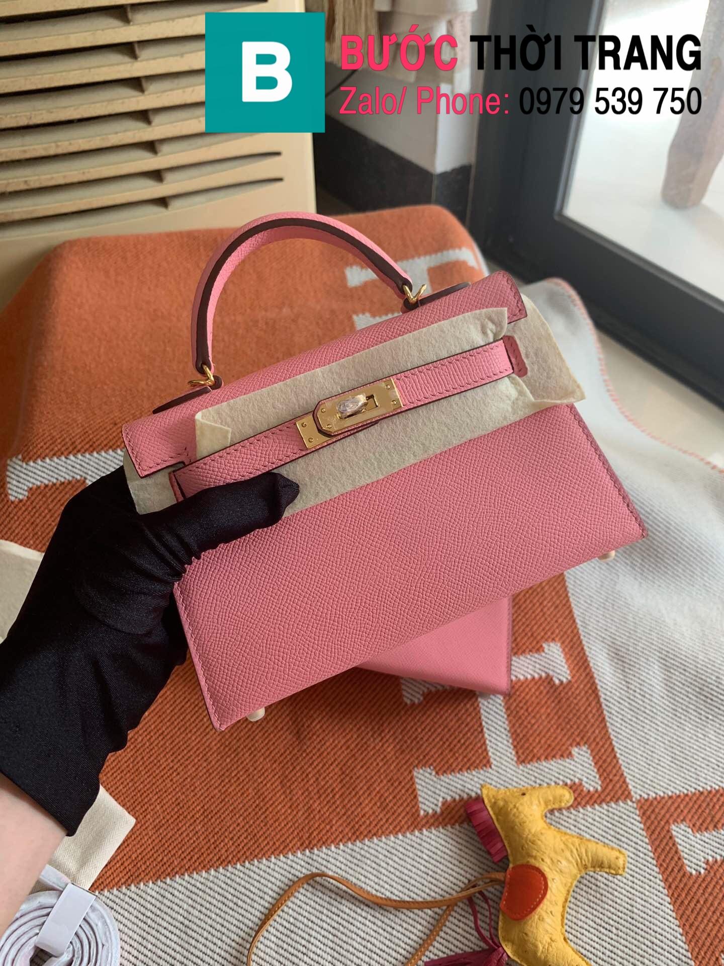 Túi xách Hermes Kelly mini epsom (100)
