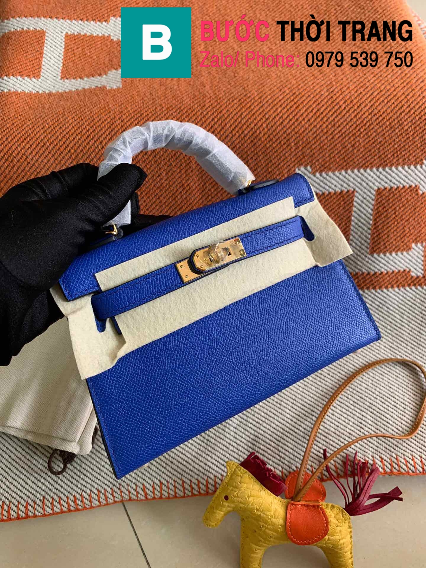 Túi xách Hermes Kelly mini epsom (109)
