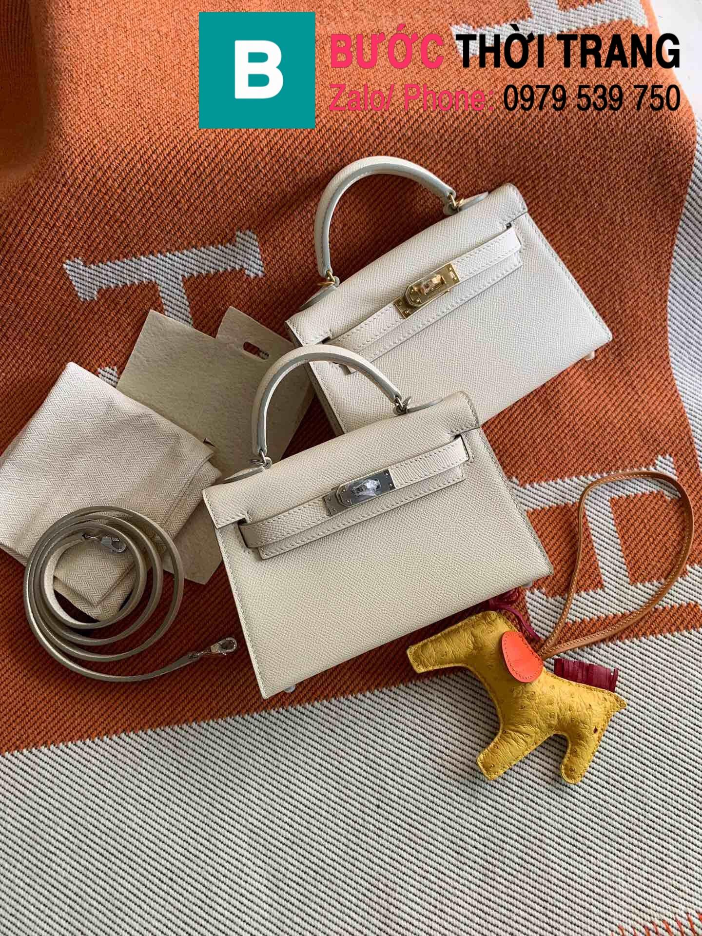 Túi xách Hermes Kelly mini epsom (136)