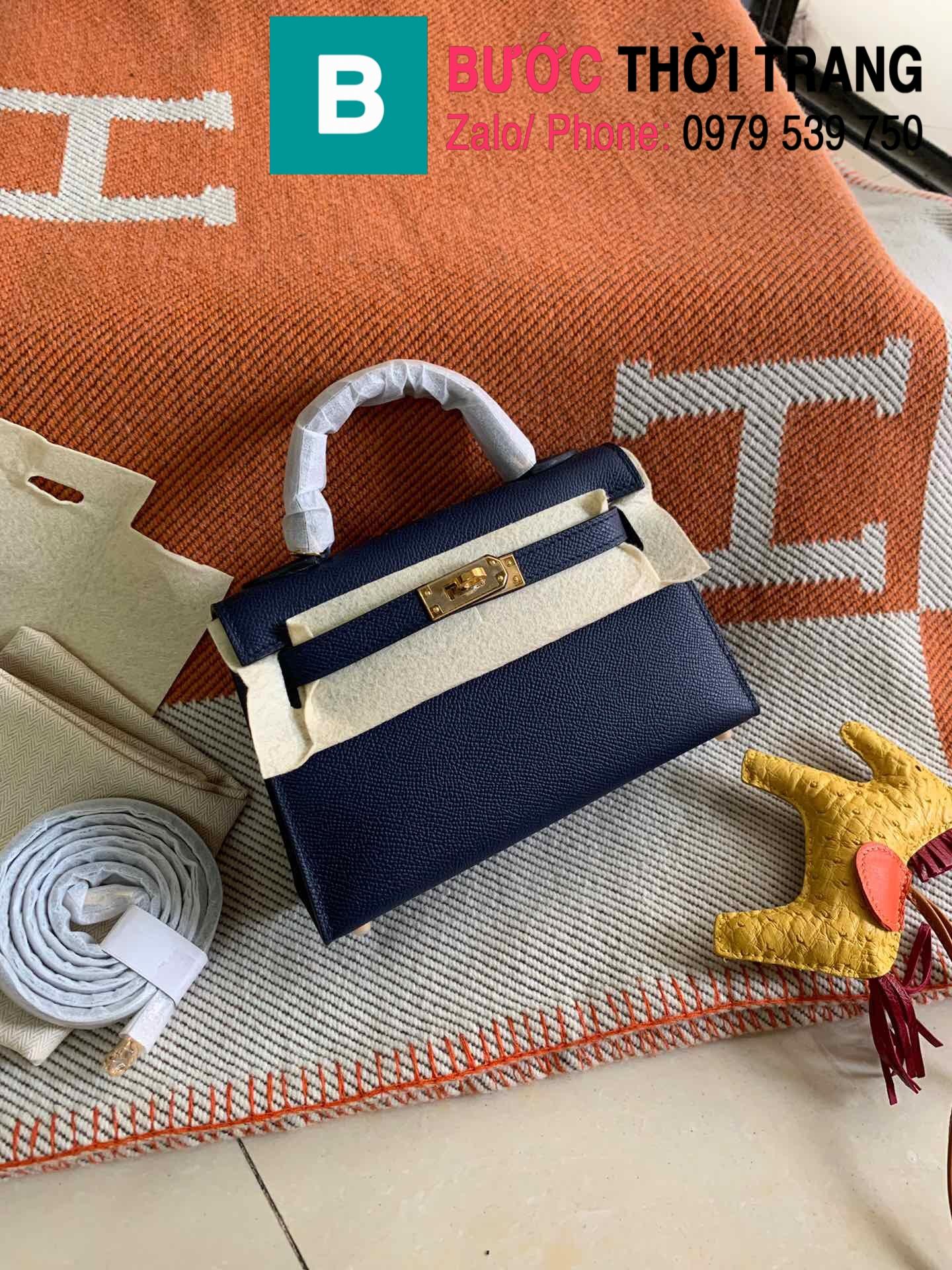 Túi xách Hermes Kelly mini epsom (19)
