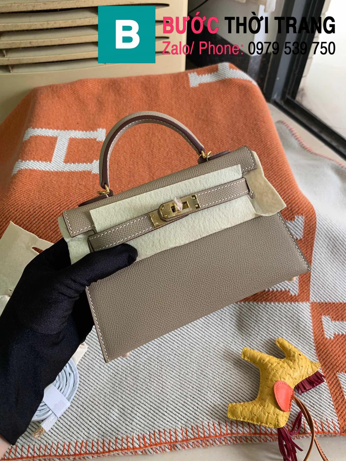 Túi xách Hermes Kelly mini epsom (28)