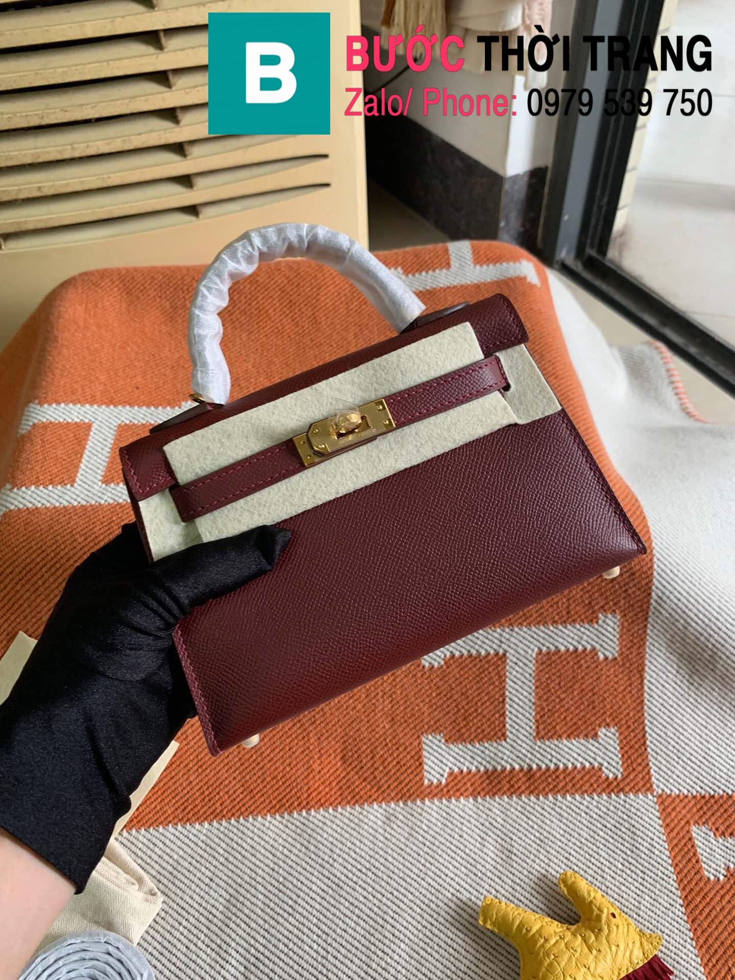 Túi xách Hermes Kelly mini epsom (55)