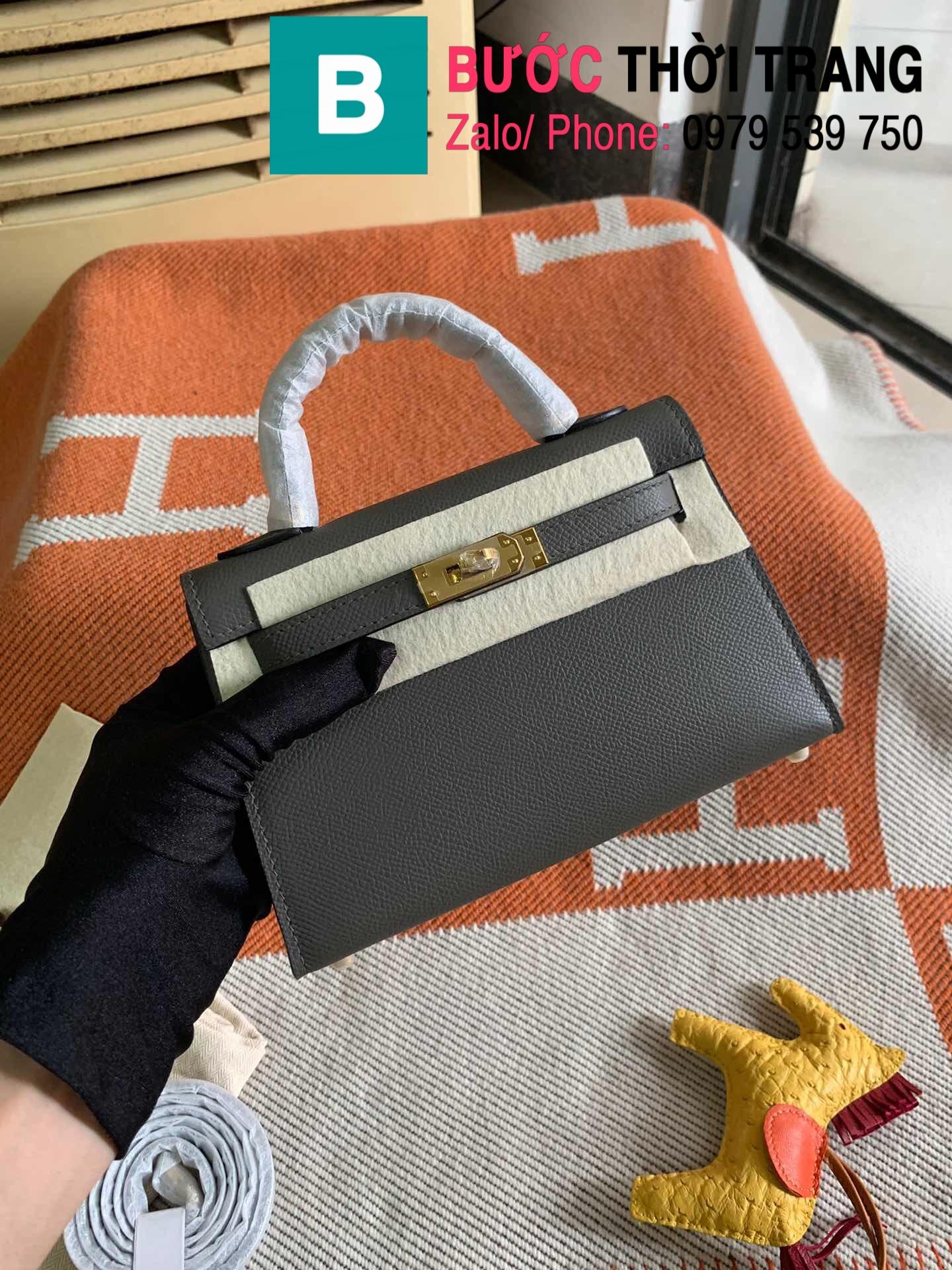 Túi xách Hermes Kelly mini epsom (64)