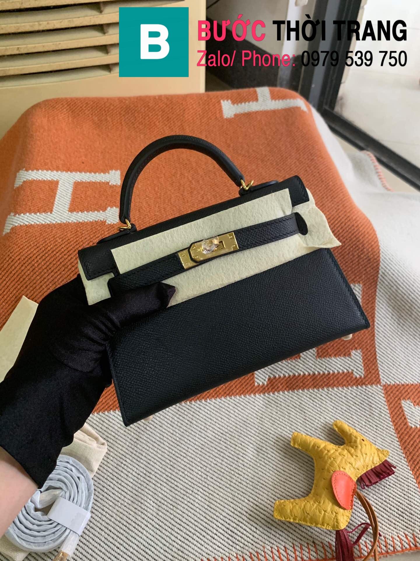 Túi xách Hermes Kelly mini epsom (82)
