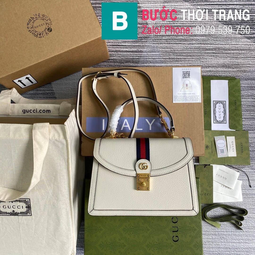 Túi xách Gucci Ophidia small top handle bag (1)